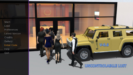 Uncontrollable Lust 0.8 Game Walkthrough Download for PC & Android