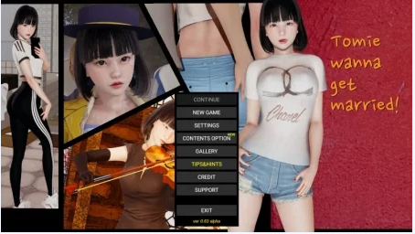Tomie Wanna Get Married 0.650APK Game Walkthrough Download for Android